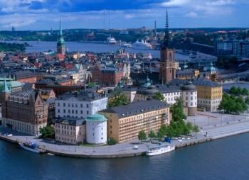 Suecia, Isla Gamla Stan, Estocolmo