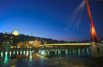 Lyon, Río Saone