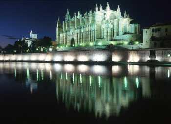 Mallorca, Catedral de Noche