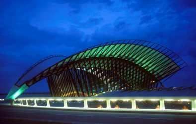 Lyon, Aeropuerto de Satolas,Estación TGB