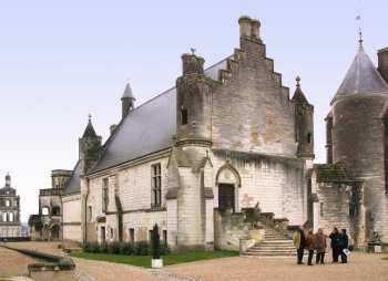 Turena, Loches, Castillo Renacentista