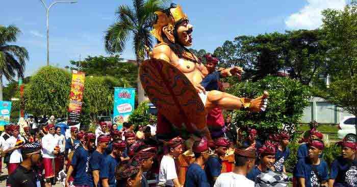 Ogoh-ogoh Dari Banten, Semarakan Festival hari raya Nyepi di Ancol
