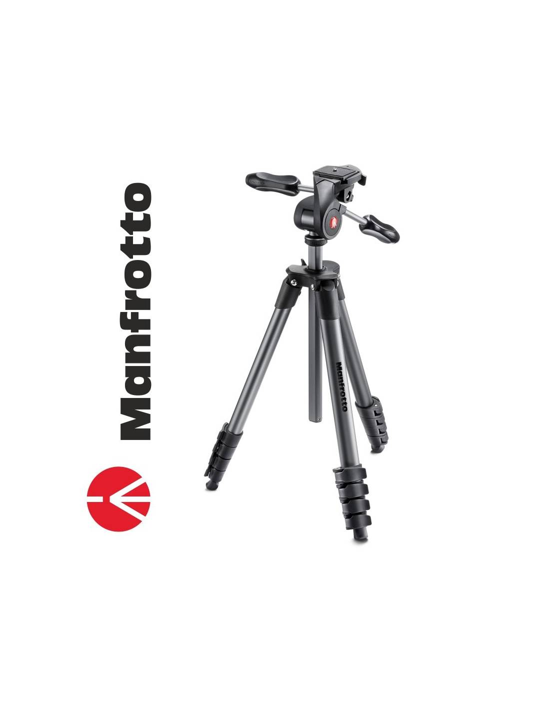 Manfrotto Trípode Compact Advanced 3 way