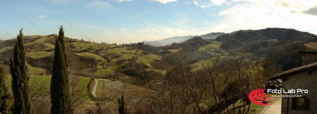 Panorama Votigno di Canossa