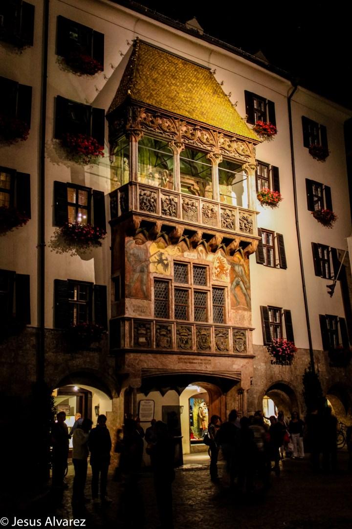 Tejado dorado de Innsbruck