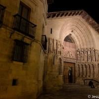 San Bartolomé de noche, Logroño