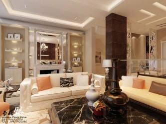 living room wall stylish decor interior shelves elegant rooms walls designs decoration types intended sofa cream fotolip rich interiors nice