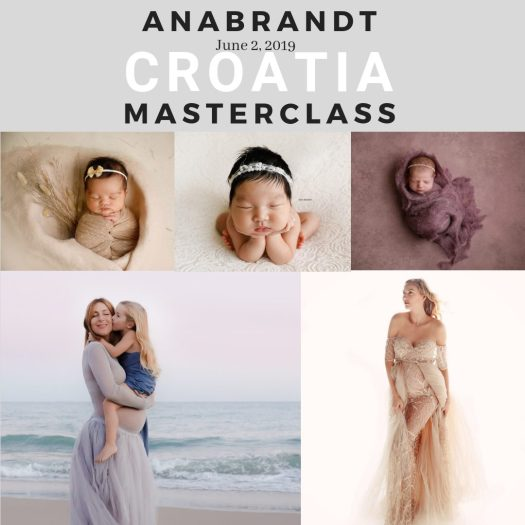 Ana Brandt specijalizirana za fotografiranje beba