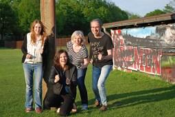 Steffi Urban, Annica Müllenberg, Kerstin Graf, Ulrich Graf-Nottrodt (v.l.) / Foto: Kerstin Graf