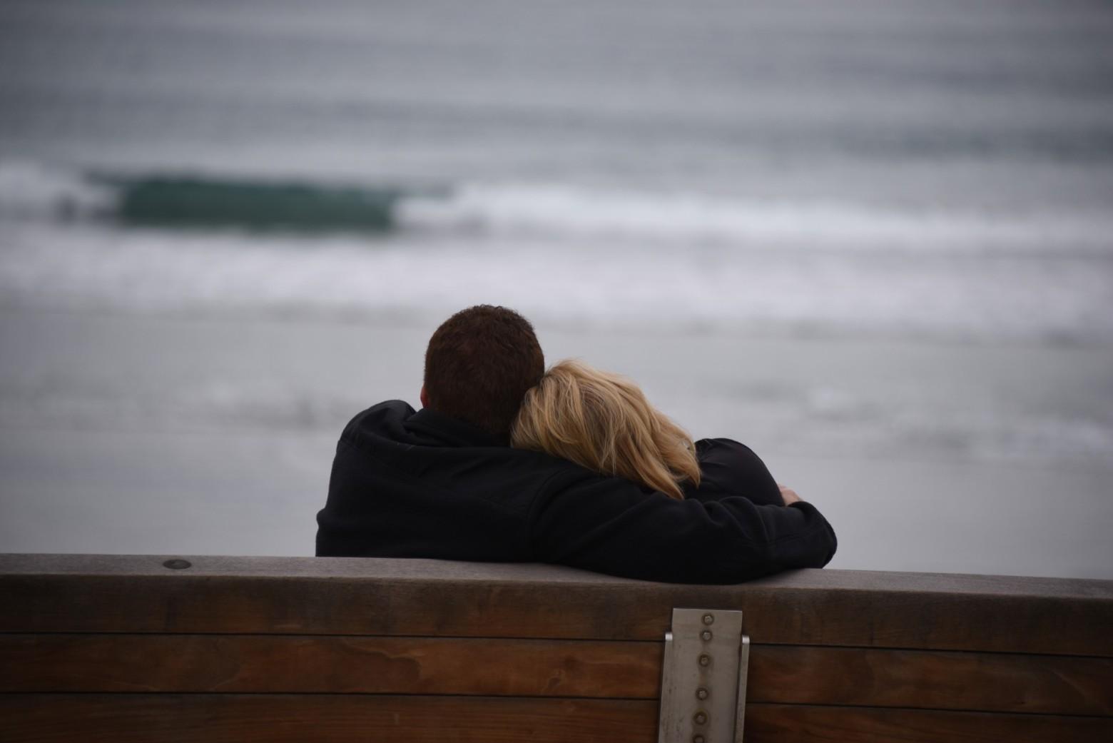 Couple Amoureux Amour Plage Images Gratuites Et Libres