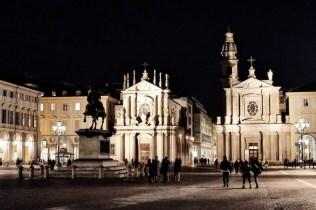 An evening stroll around Turin, Italy.