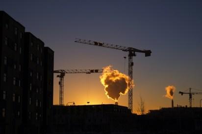 Göteborg at dusk