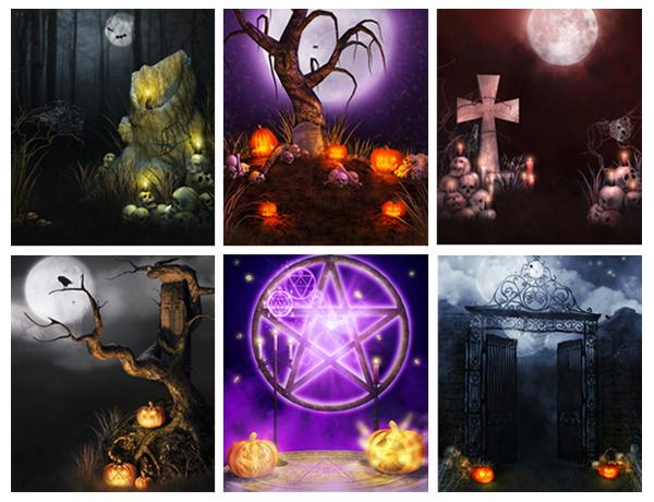 Fondos Halloween Alta Calidad