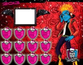 Calendarios 2013 Monster High Holt