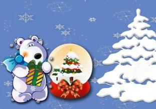 Marco de Navidad. Marcos Infantiles para fotos
