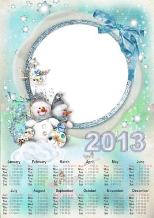 Navidad 2013. Calendarios 2013 Personalizados