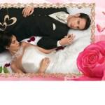 Bordes para fotos de boda.