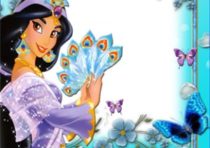 Frames Princesas Disney. Marcos de Fotos Infantiles.