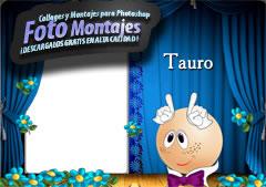 Fotomontajes de Zodiaco Tauro