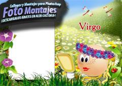 Fotomontajes de Zodiaco Virgo