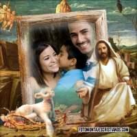 Marcos cristianos de Jesús para tus fotos