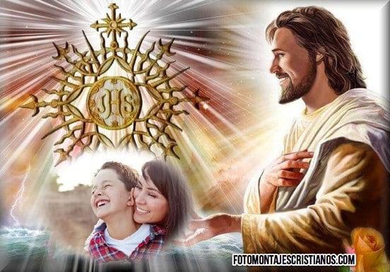 fotomontajes de jesus online