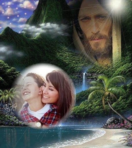 fotomontajes con la cara de jesus