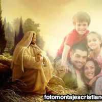 Pon tu foto con Jesús en el Monte de los Olivos
