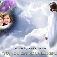 Cómo poner mi foto al lado de Jesús en el cielo
