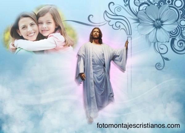 poner_mi_foto_con_dios_y_jesus_en_el_cielo