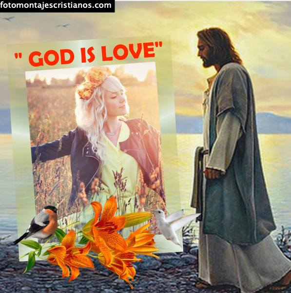 Fotomontajes cristianos con frases