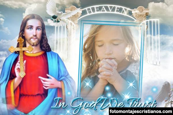 Marcos de fotos con Jesús