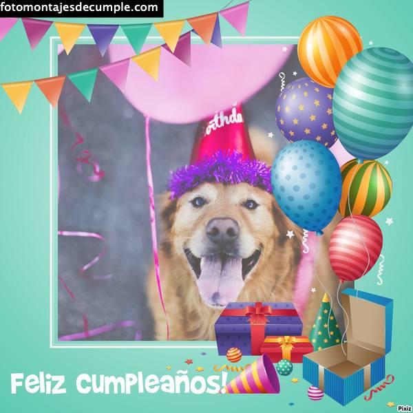 Fotomontajes de cumpleaños con texto