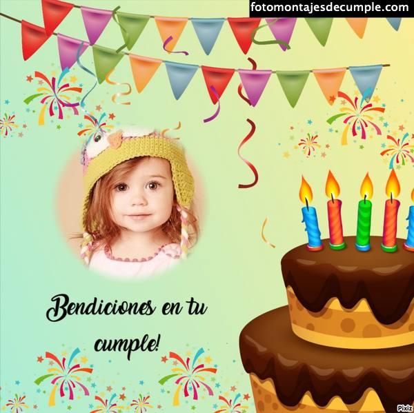 Fotomontajes de cumpleaños cristianos