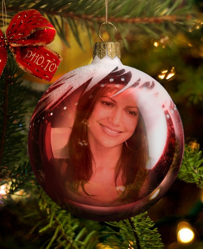Fotomontaje Gratis En Adorno De Navidad Fotomontajes