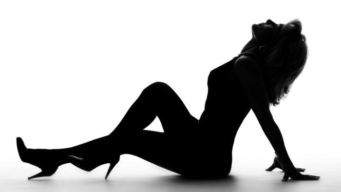 Frauen Akt Fotoshooting