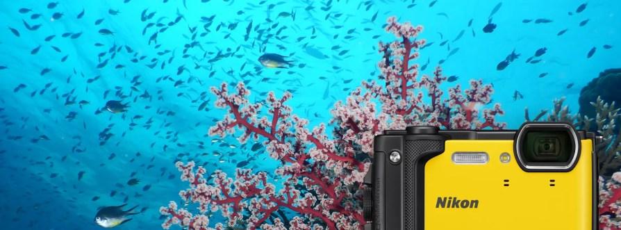 Nikon Coolpix W300 Wasserfeste Kompaktkamera