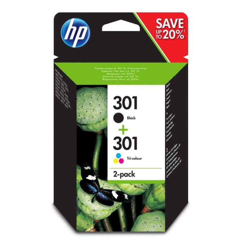 HP Combopack 301 BK-Color Tintenpatrone