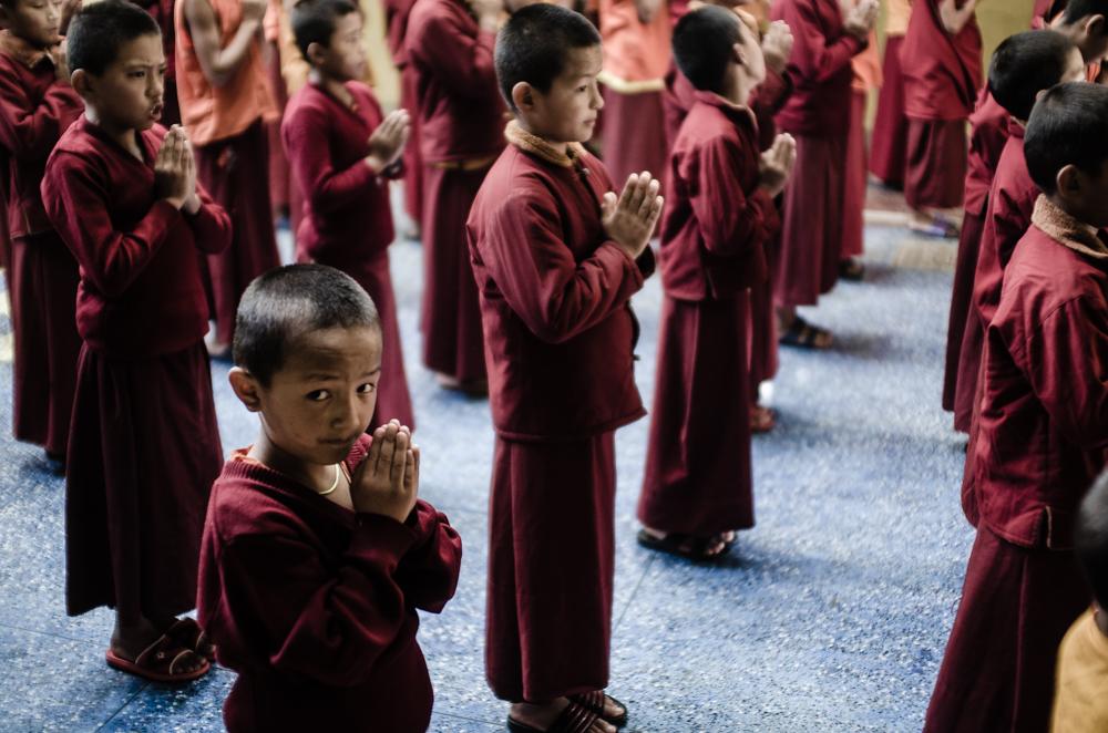 monasterio budista pokhara