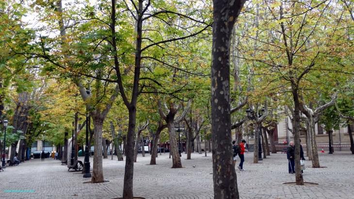 Glorieta del Doctor Zubia. Logroño. La Rioja.