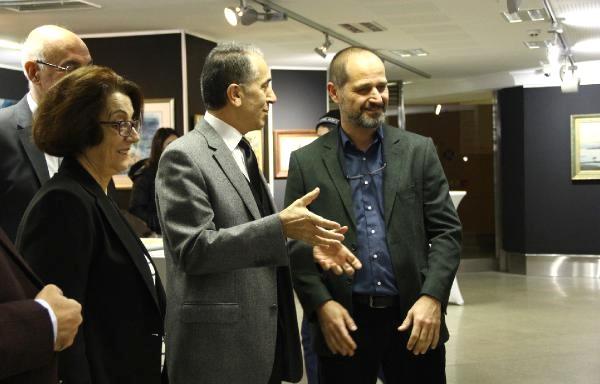 İstanbul Resimleri Kültür Üniversitesi'nde Sergileniyor