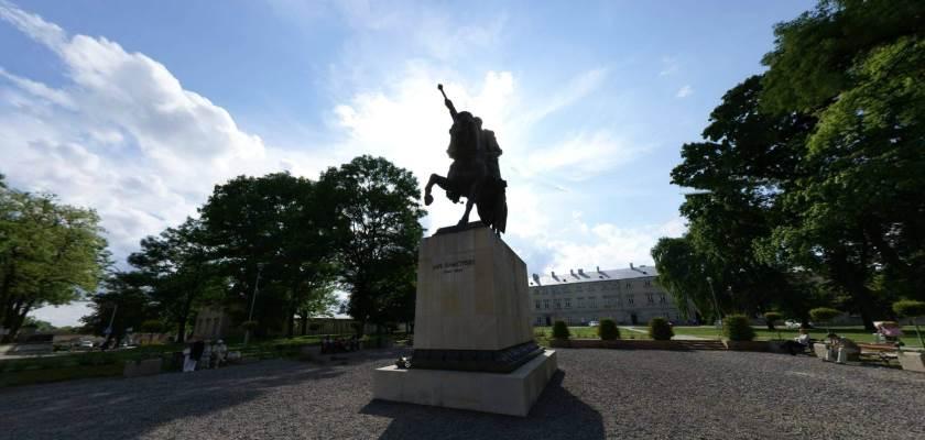 Pomnik Jana Zamoyskiego, Zamość
