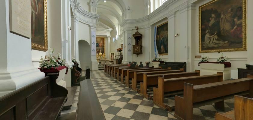 Klasztor Relikwii Świętego Krzyża - kościół