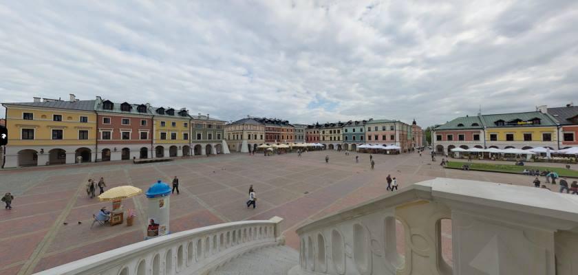 Zamość, Stare Miasto - wycieczka wirtualna