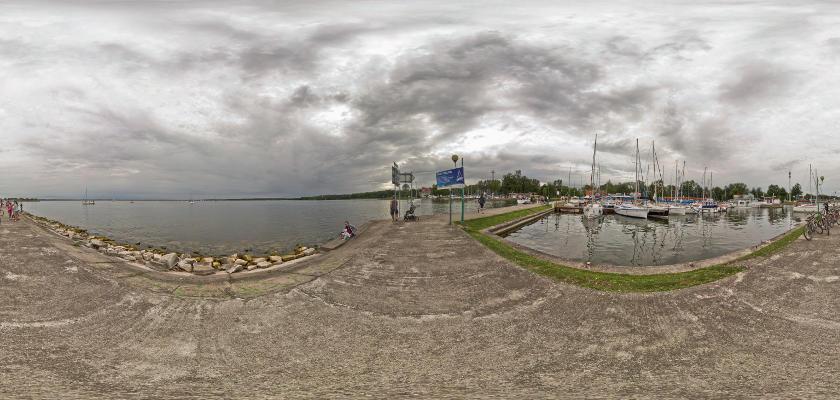 Giżycko, Jezioro Niegocin - przystań