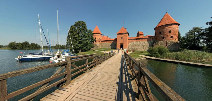 Zamek książęcy w Trokach/Trokai (Litwa)