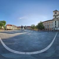 Plac Istvana Dobo w Egerze, Węgry