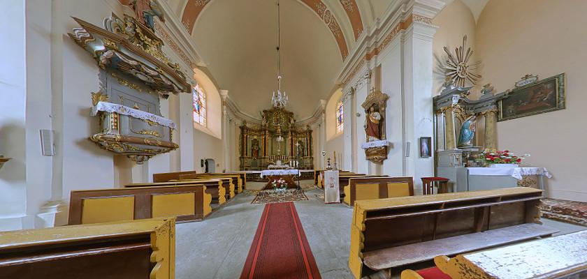 Kościół pw. Św. Wawrzyńca w Przychowej
