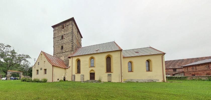 Kościól w Krzeczynie Wielkim  - spacer wirtualny
