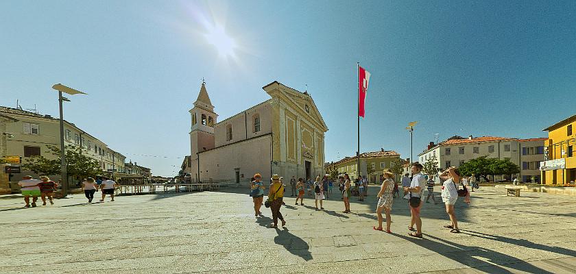 Poreč, Chorwacja - wirtualna wycieczka po starym mieście